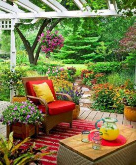 Summer Outdoor Decorating Ideas 25