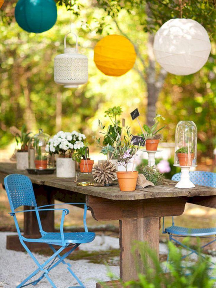 Summer Outdoor Decorating Ideas 26