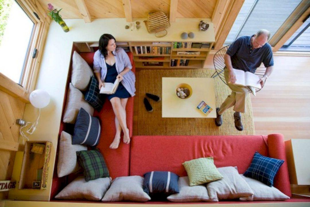 Tiny Houses Living Room Design 214