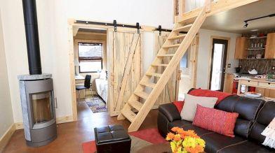 Tiny Houses Living Room Design 222