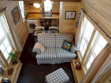 Tiny Houses Living Room Design 227