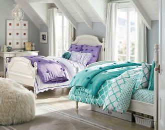 Twin Bedding Design Ideas 22