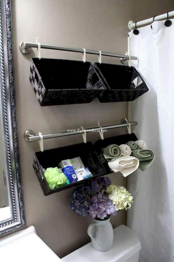 Creative Shelving Ideas for Small Bathrooms 10
