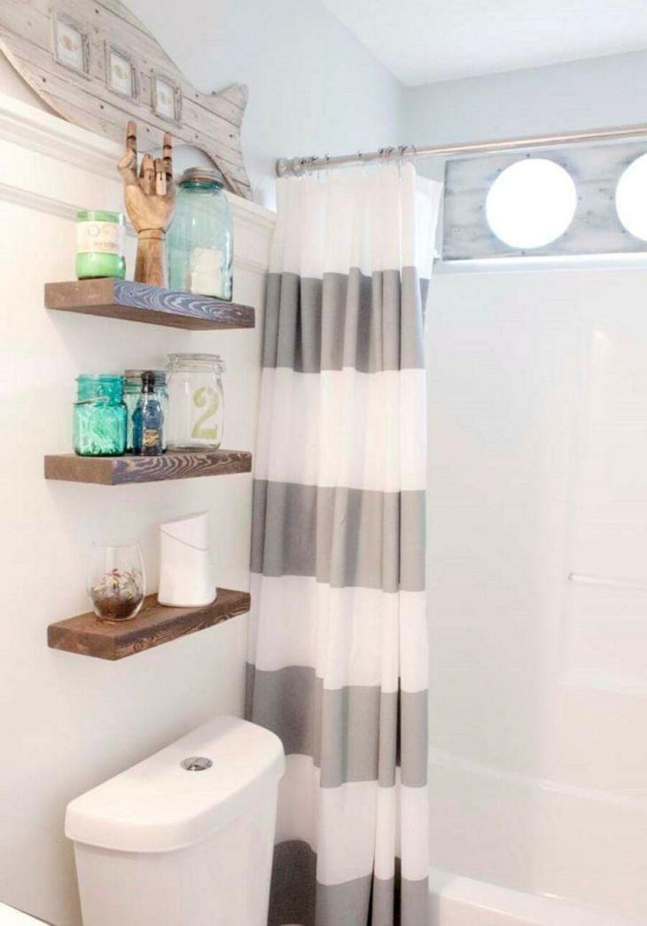 Creative Shelving Ideas for Small Bathrooms 16