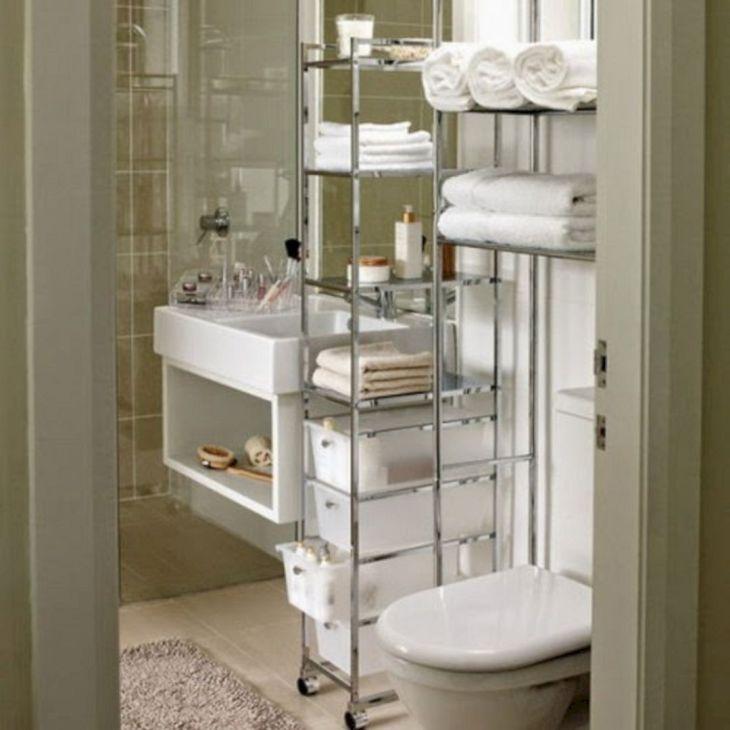 Creative Shelving Ideas for Small Bathrooms 4