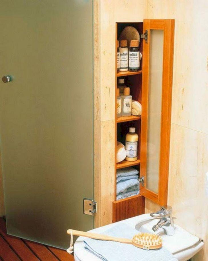 Creative Shelving Ideas for Small Bathrooms 6