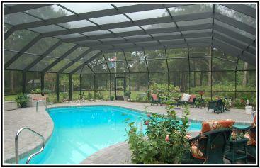 Screened Pool Patio Ideas 16