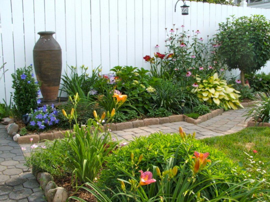 Wondeful 10 Small Perennial Garden Designs Ideas For Small ... on Outdoor Backyard Designs id=29945