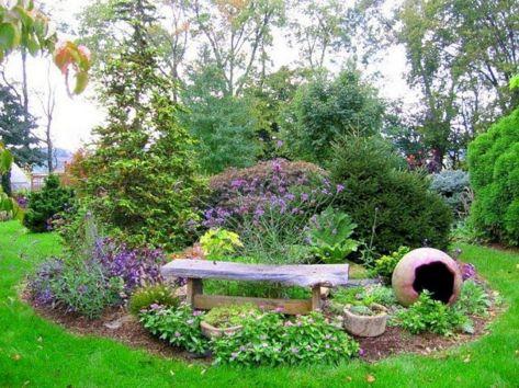 Small Perennial Garden Designs 23