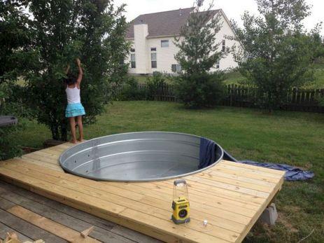Stock Tank Swimming Pool Design 22