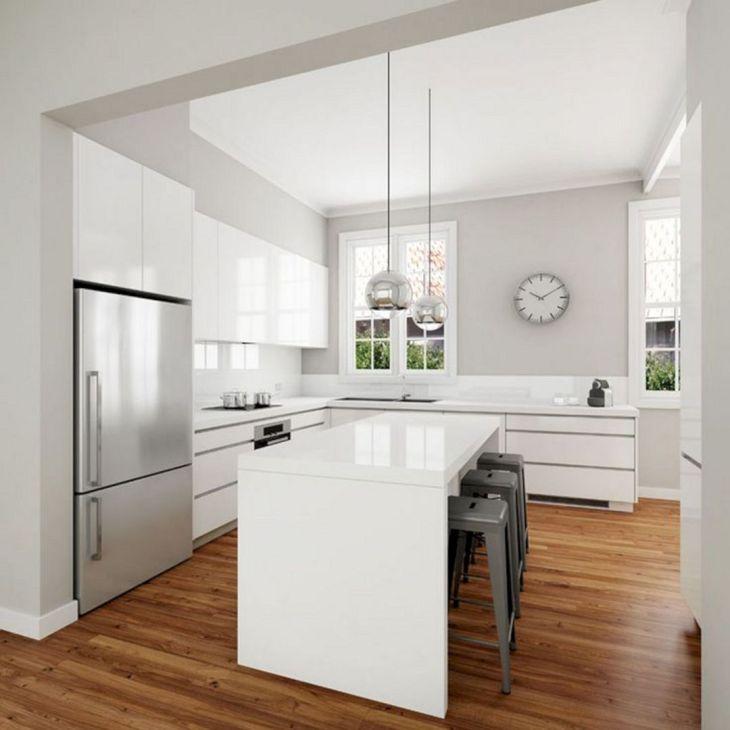 Wonderful 25+ White Modern Kitchen Design Ideas to Inspire You ...