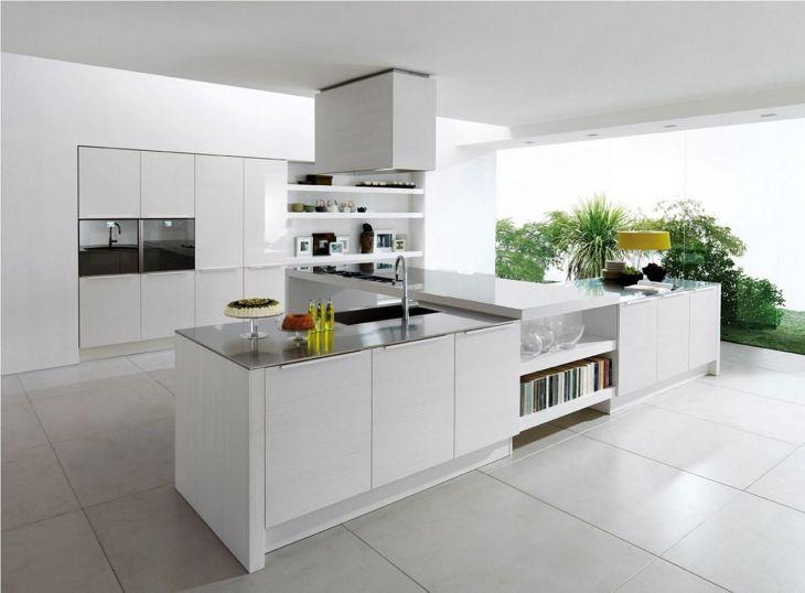 White Modern Kitchen Design 28