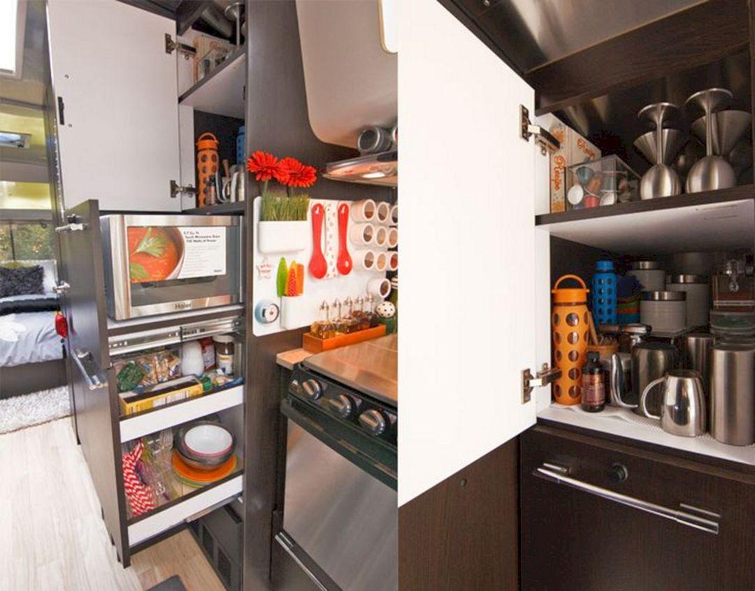 Camper Kitchen Organization Ideas 14
