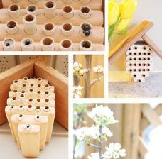 DIY Mason Bee House Design 11