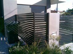 Black Garden Fences Design 27
