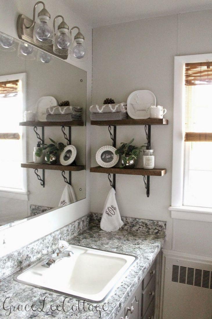 DIY Barnwood Bathroom Decoration 12