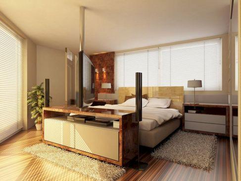 Master Bed Size Design 10