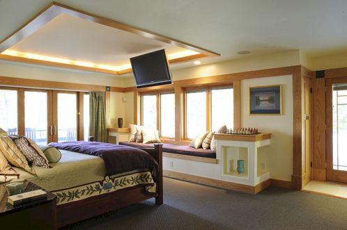 Master Bed Size Design 13