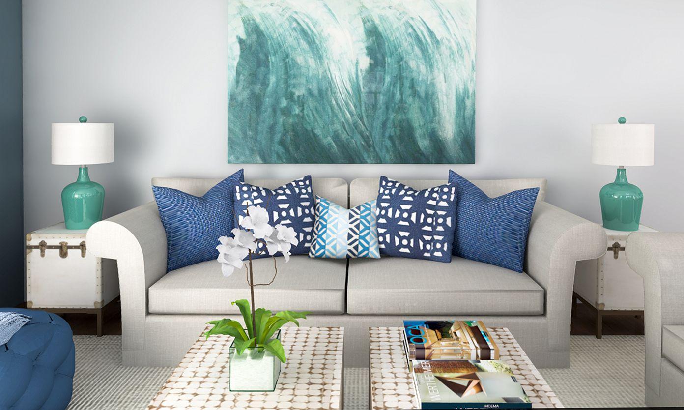 Living Room Beach Decor 13