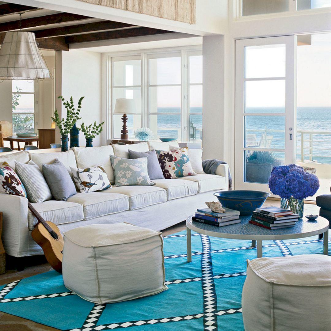 Living Room Beach Decor 15