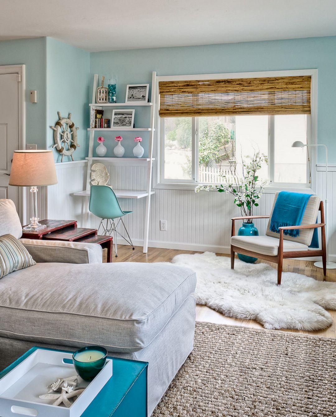 Living Room Beach Decor 16
