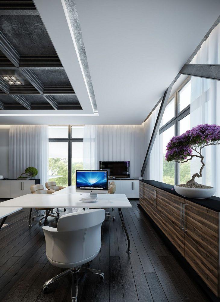 Modern Home Office Ideas 27