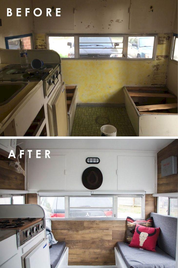 Renovated RV Camper Ideas