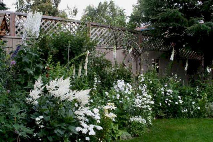 White Garden Design 2