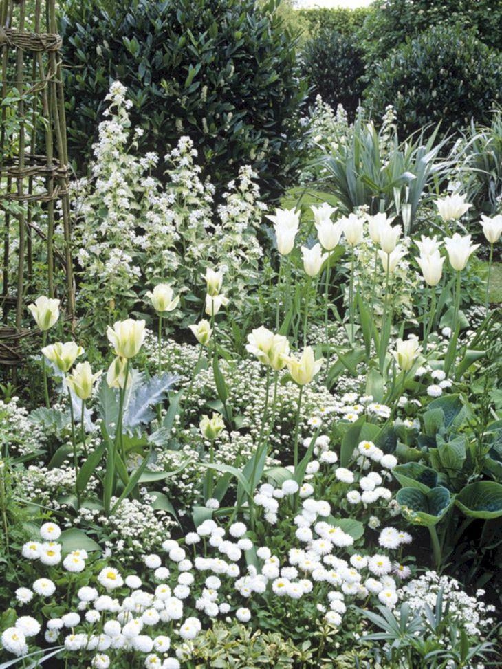 White Garden Design 8