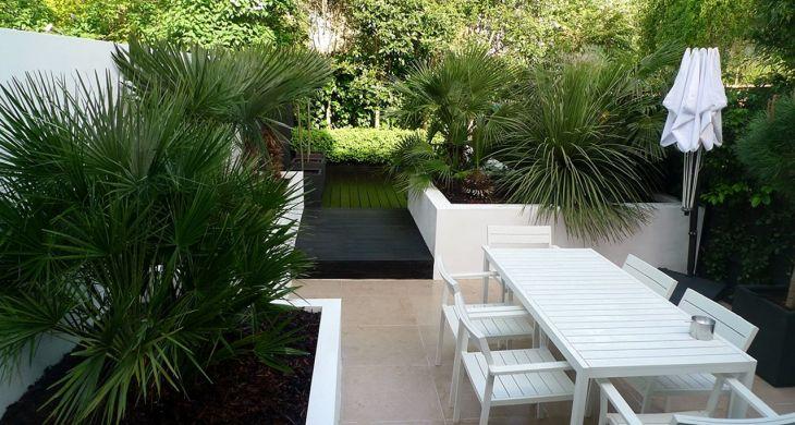 White Garden Design 9