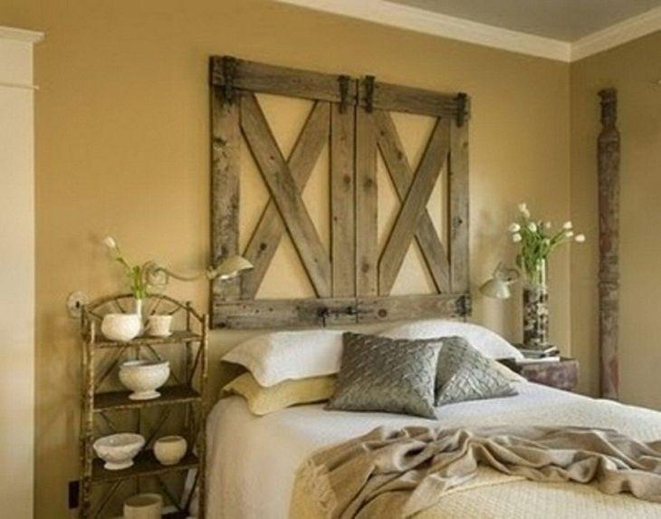 DIY Rustic Bedroom Decor Ideas