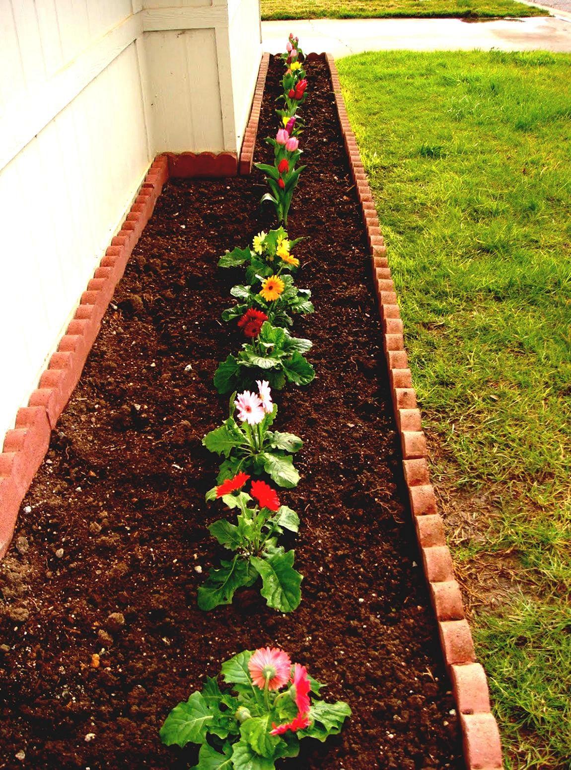 Front Yard Flower Garden Design 3