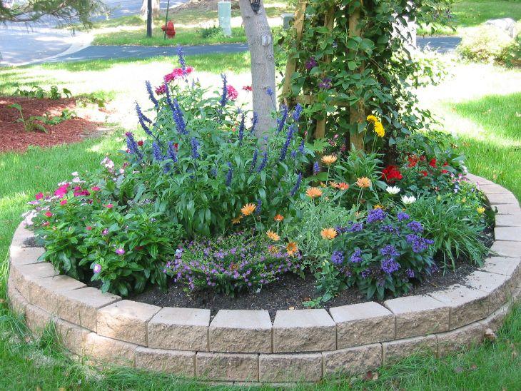 Front Yard Flower Garden Design 30