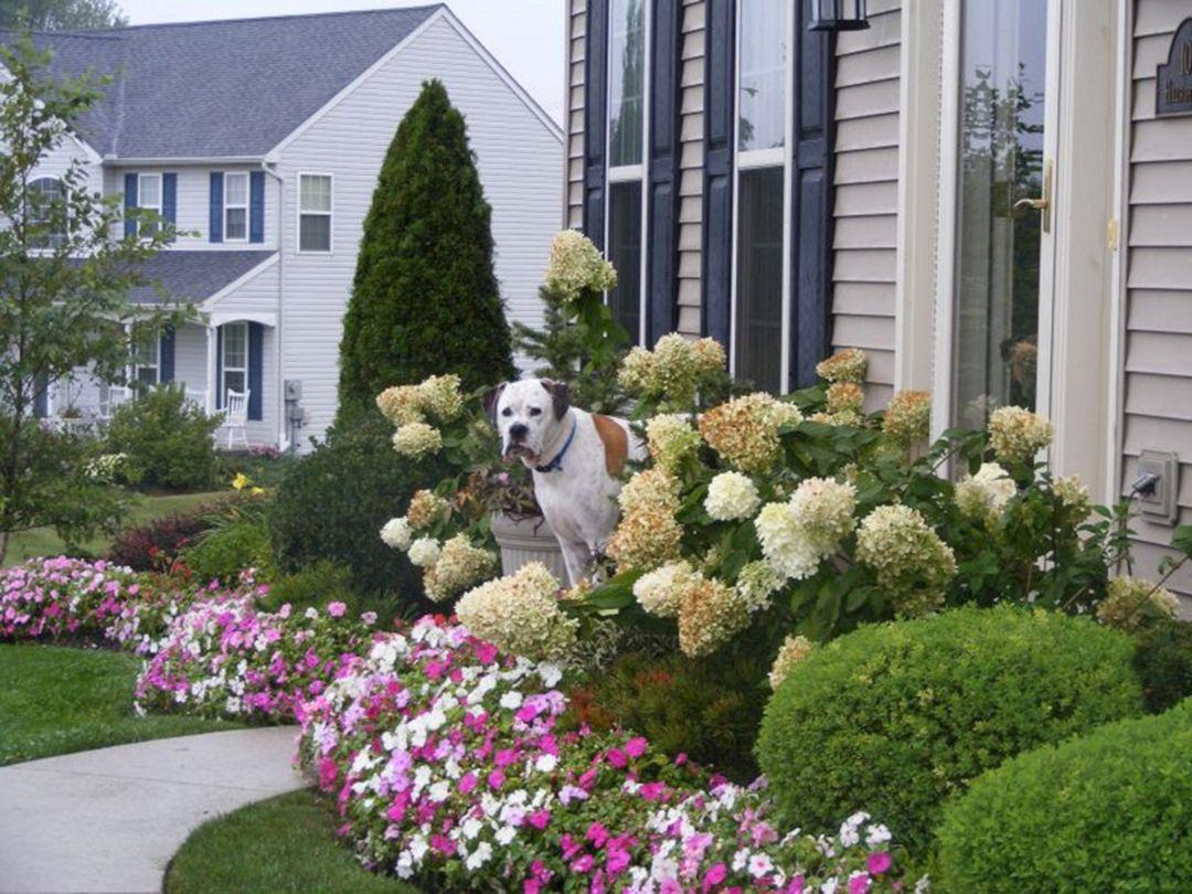Front Yard Flower Garden Design 6