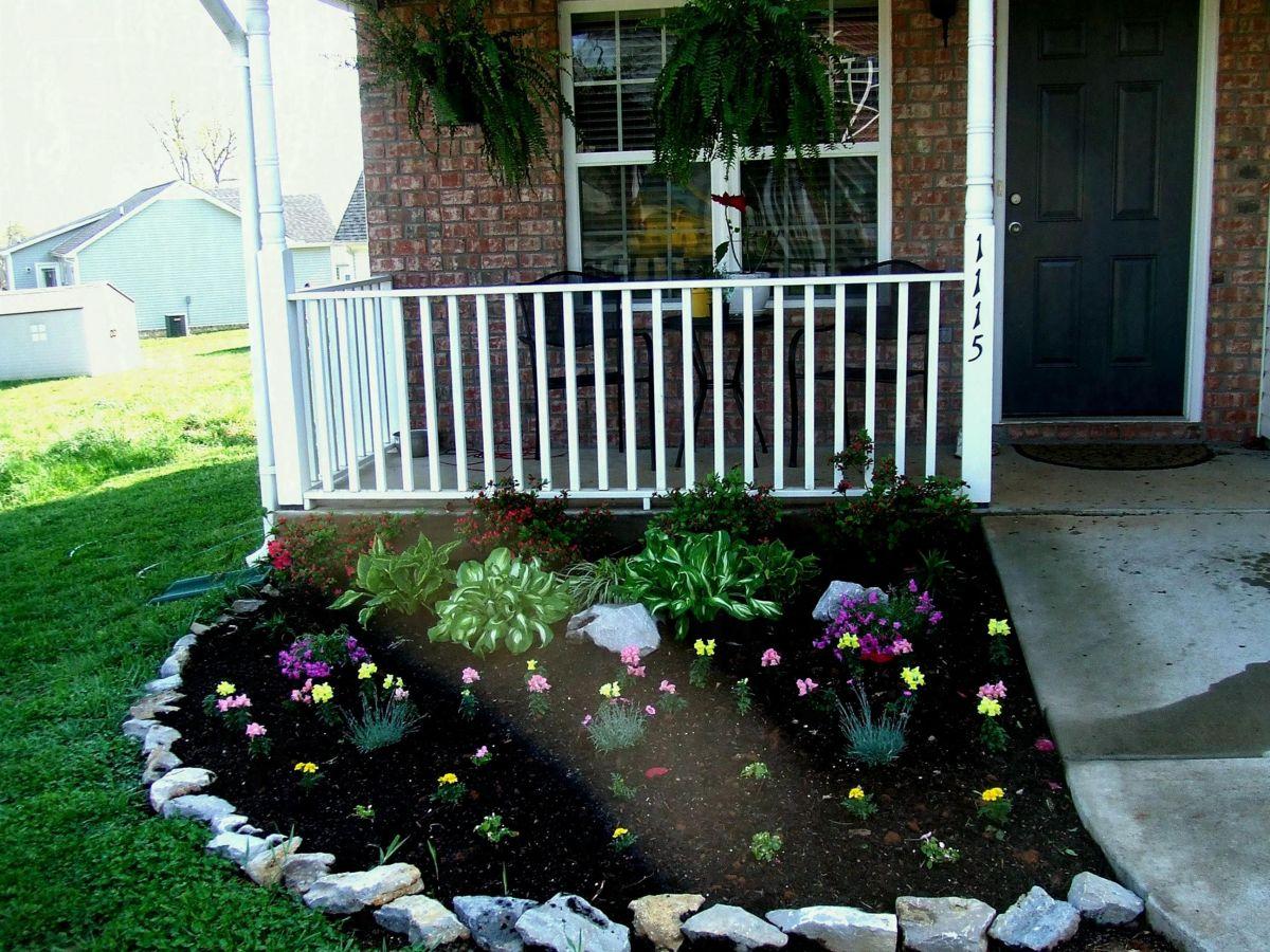 25+ Beautiful Flower Garden Design For Spring Front Yard ...