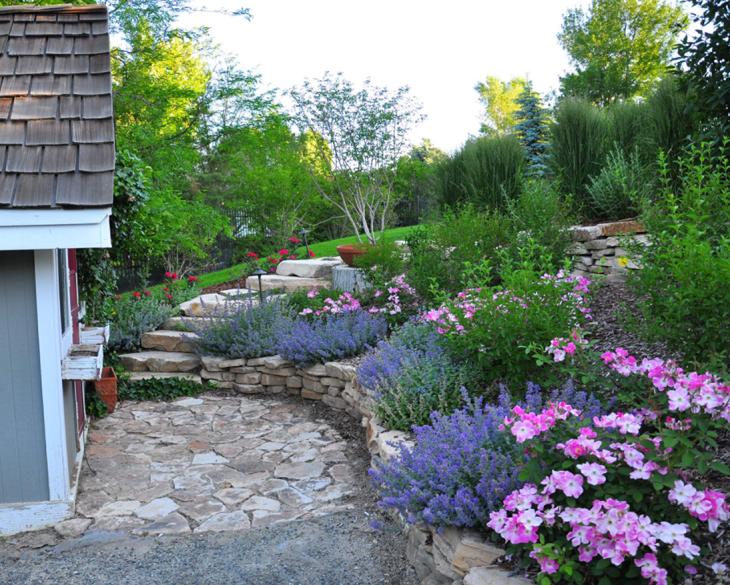 Front Yard Flower Garden Design 9