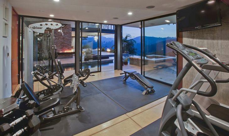 Home Gym Design Ideas 16