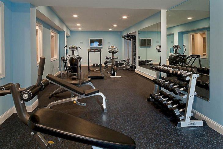 Home Gym Design Ideas 23