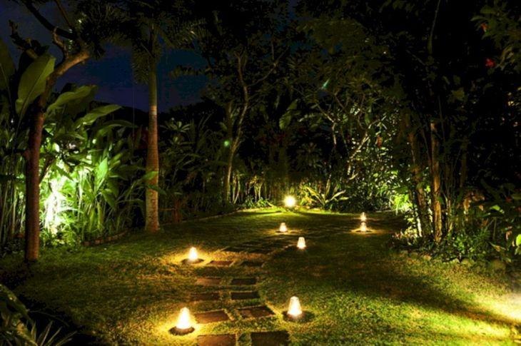 Inspirational Garden Lighting Design 13