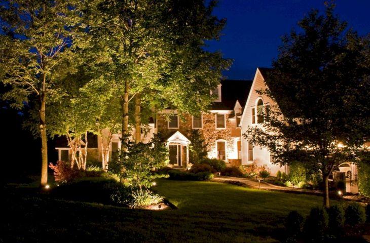 Inspirational Garden Lighting Design 23