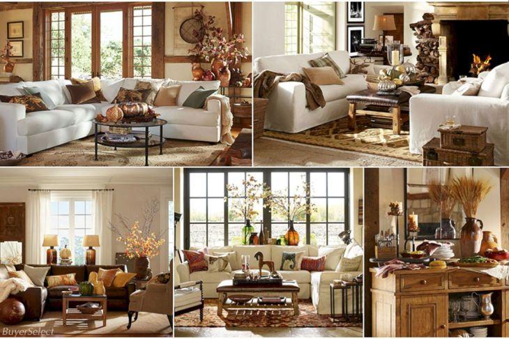 Living Room Fall Decor Ideas 33