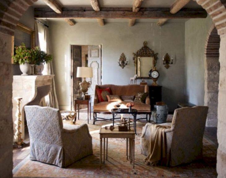 Living Room Farmhouse Decoration Ideas 116