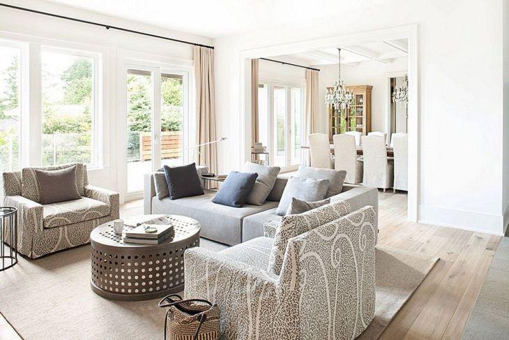 Living Room Farmhouse Decoration Ideas 14