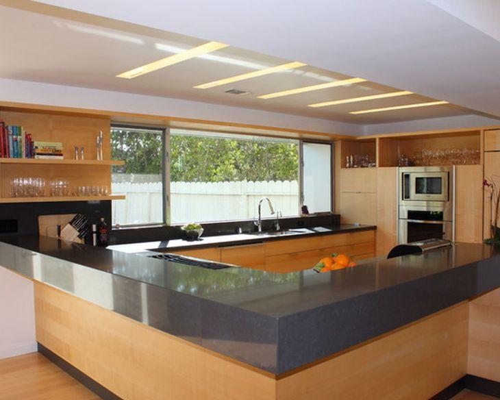 Modern Kitchen Ceiling Design Ideas 11