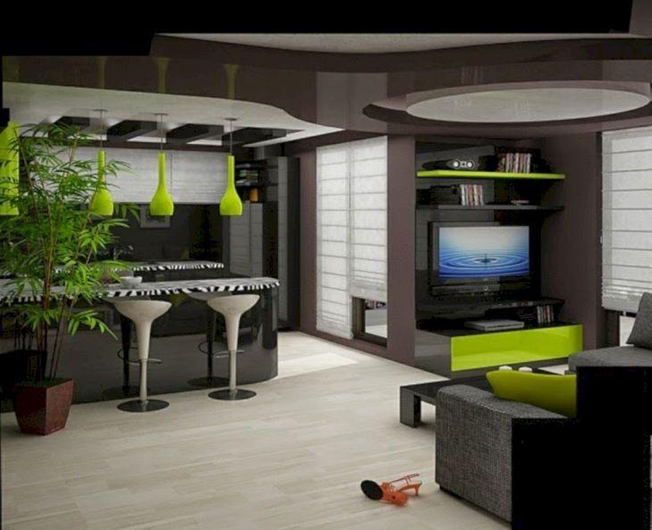 Modern Kitchen Ceiling Design Ideas 13
