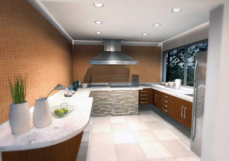 Modern Kitchen Ceiling Design Ideas 2