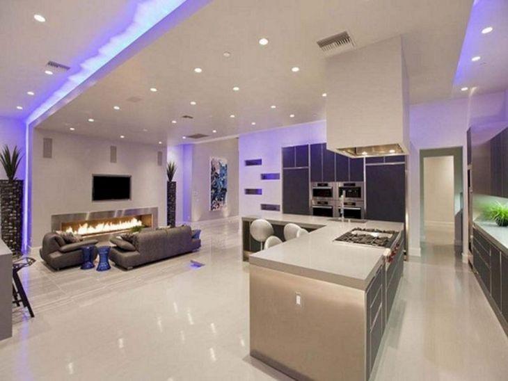 Modern Kitchen Ceiling Design Ideas 27