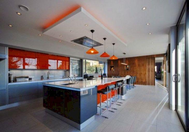 Modern Kitchen Ceiling Design Ideas 8
