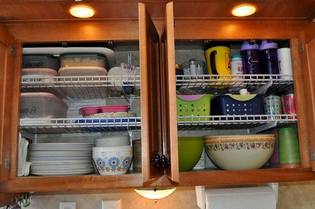 RV Kitchen Storage Design Ideas 10 – DECOREDO