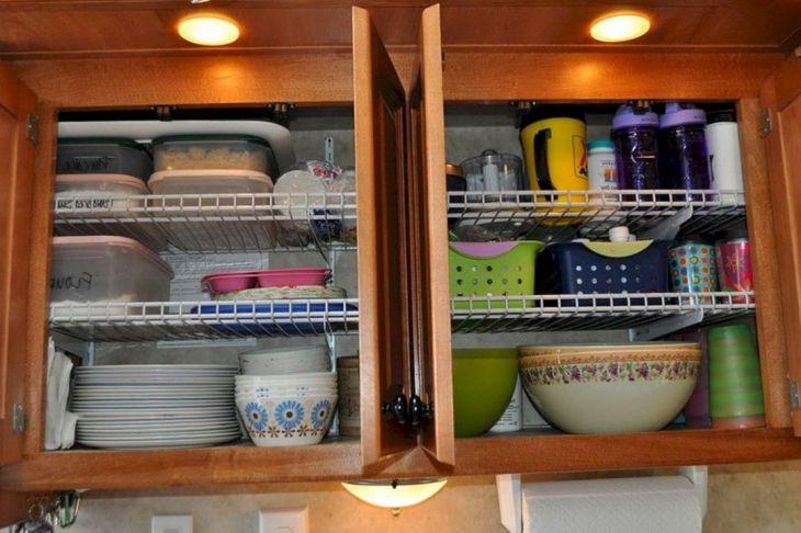RV Kitchen Storage Design Ideas 10